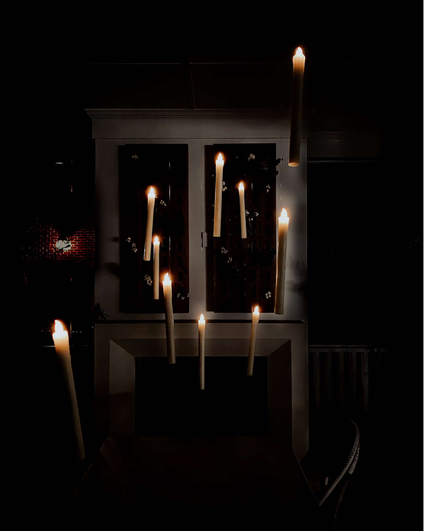 Harry Potter Inspired Halloween Floating Candles