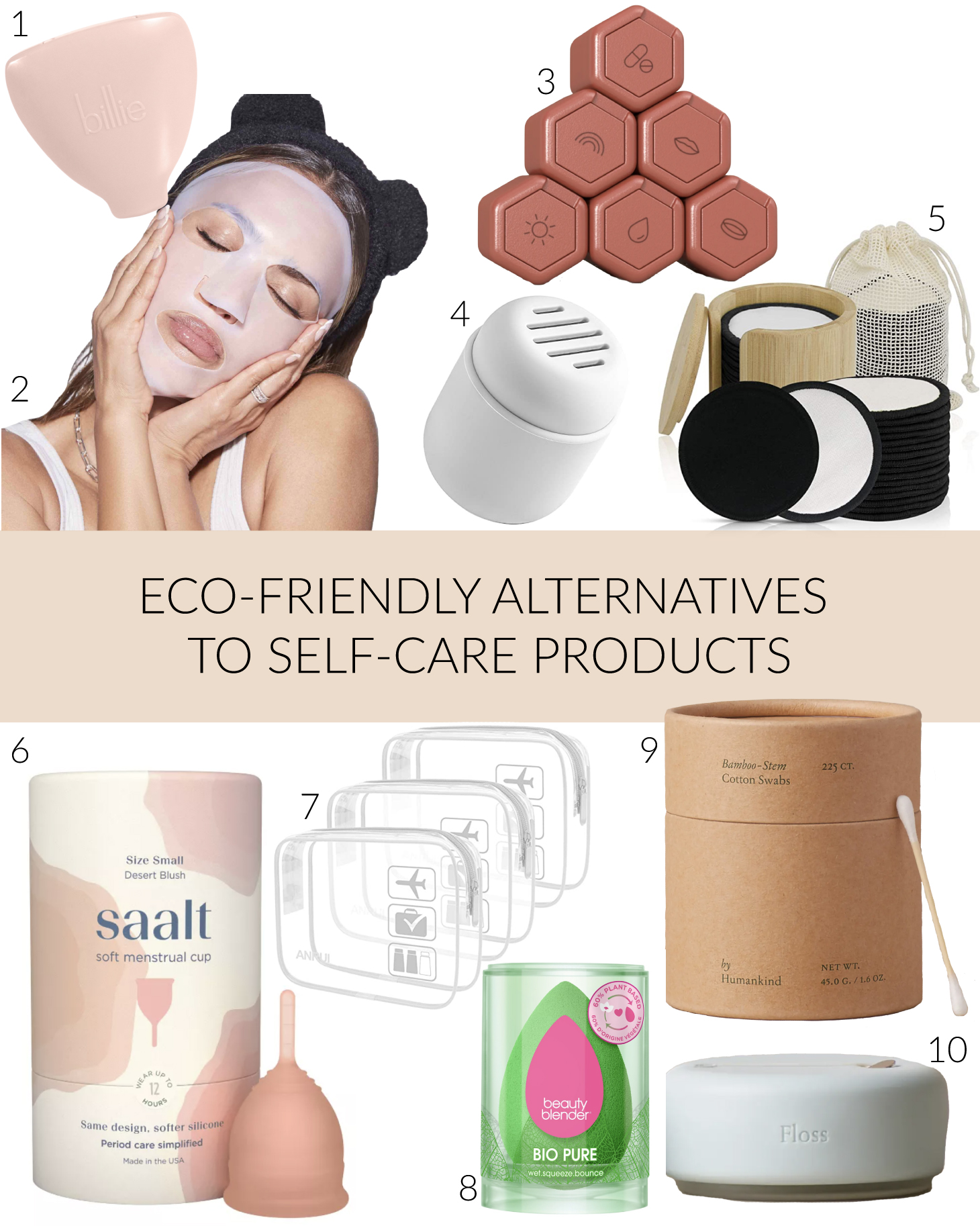 eco-friendly self care products